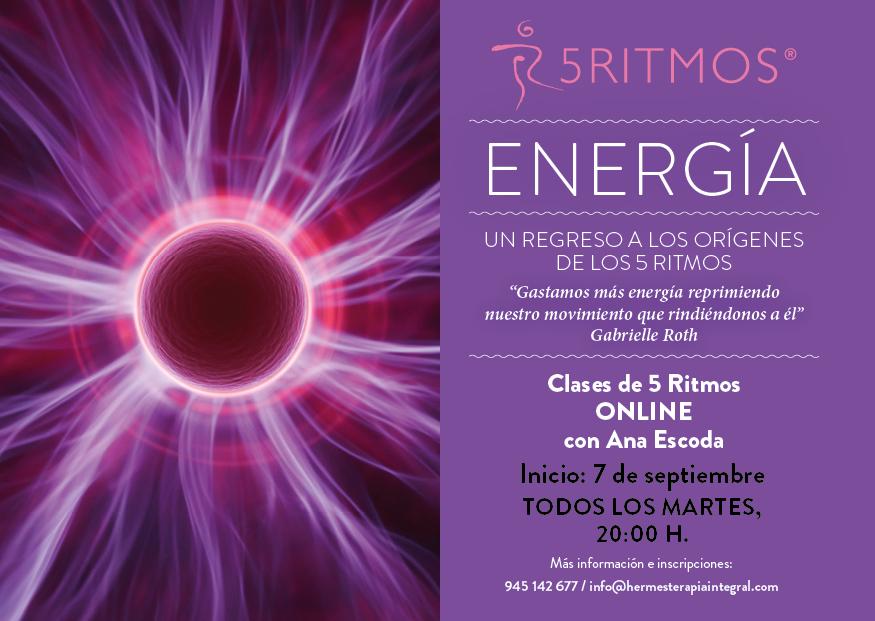 5 RITMOS con Ana Escoda (online)